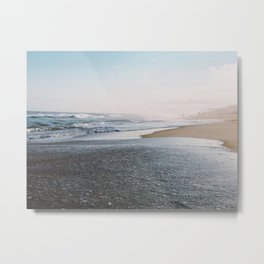 Montauk Beachfront Metal Print