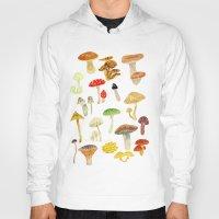 mushrooms Hoodies featuring Mushrooms by Lara Paulussen