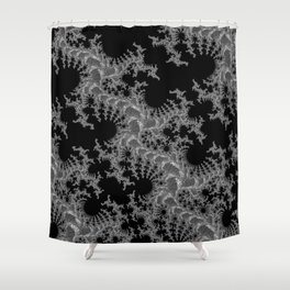 Jack Frost Midnight Shower Curtain