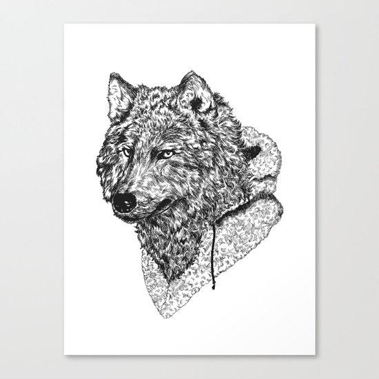 Mr Wolf Canvas Print