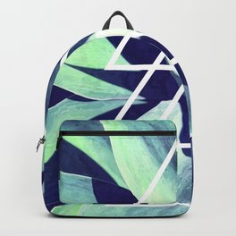 Triangle Blue Agave Backpack