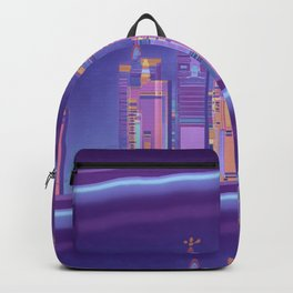 Saturnian Ultraviolet Wave Two Backpack