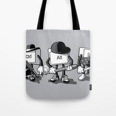 Computer Mafia Tote Bag