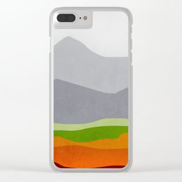 Mountains 10 Clear iPhone Case
