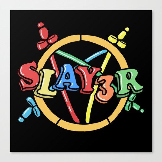 Slayer—For Kids! Canvas Print