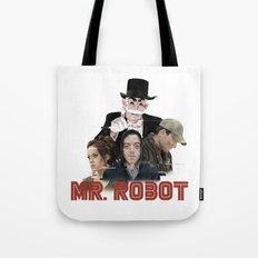 fsociety - Mr. robot Tote Bag