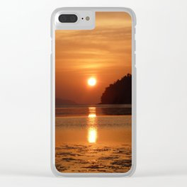 Sunset at Andaman Coast, Thailand Clear iPhone Case