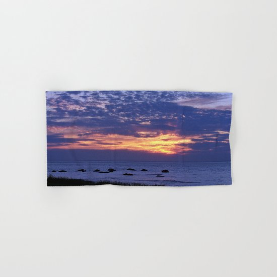 Flaming Clouds Hand & Bath Towel
