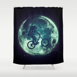 E.T.B. (variant) Shower Curtain