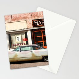 Vintage Car in Old Town No. 1 :: Lowell Arizona Stationery Cards