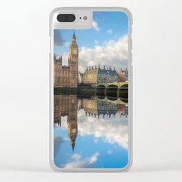 Westminster Bridge London Clear iPhone Case