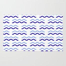 Water blue wave background #society6 #decor #buyart #artprint Rug