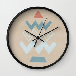 Sound in images - minimal simple artwork Wall Clock