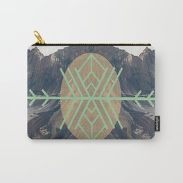 Mountains With Green Carry-All Pouch