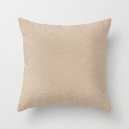 Pantone Hazelnut, Liquid Hues, Abstract Fluid Art Design Throw Pillow