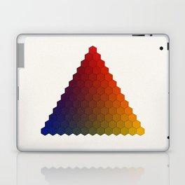 Lichtenberg-Mayer Colour Triangle variation, Remake using Mayers original idea of 12+1 chambers Laptop & iPad Skin