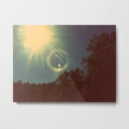 Sun Beam. Metal Print