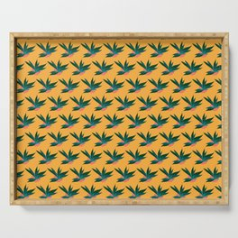 Tropicalia Gold Serving Tray
