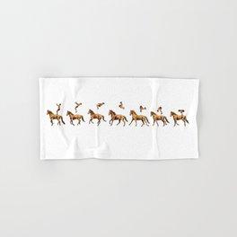 Zoopraxiscope Hand & Bath Towel