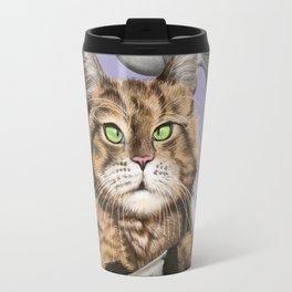 Barbarian Cat Travel Mug