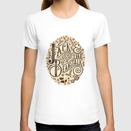 Jack and the Beanstalk art print T-shirt