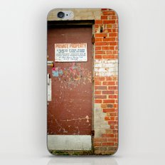Private Property iPhone & iPod Skin