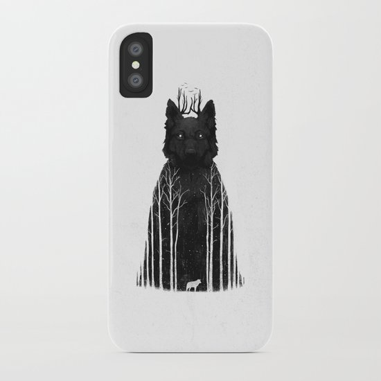 The Wolf King iPhone Case