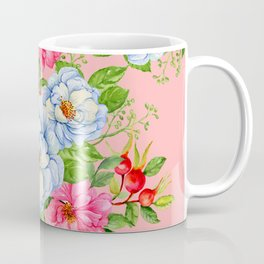 Vintage Floral Pattern No. 6 Coffee Mug