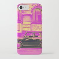 mini iPhone & iPod Cases featuring MINI by Louisa Rogers