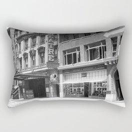The Hudson Theatre, Manhattan. 1913 Rectangular Pillow
