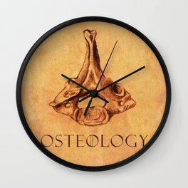 Osteology 1 Wall Clock