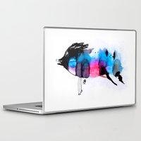 animal crew Laptop & iPad Skins featuring Animal by Organic Mind