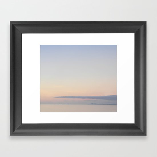 Afternoon soothe Framed Art Print