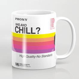 VHS and Chill Coffee Mug