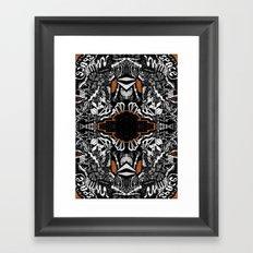 Space Rift Framed Art Print