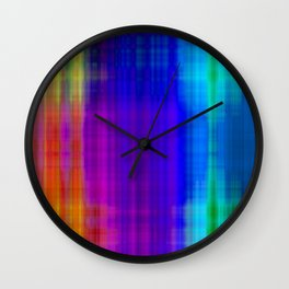 Jumbled Wall Clock