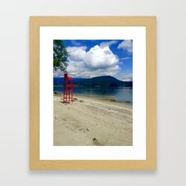 Lake View Framed Art Print