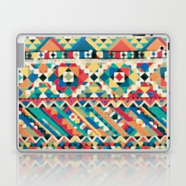 an aztec pattern.  Laptop & iPad Skin