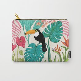 Tropical Toucan Carry-All Pouch