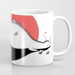 Sunset Dragon Coffee Mug