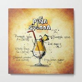 Pina Colada Metal Print