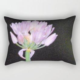 Chives Single Flower Rectangular Pillow