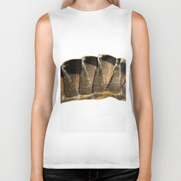 lines and blemishes Biker Tank