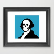 The One Dollar Man Framed Art Print