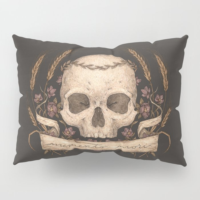 Memento Mori Pillow Sham