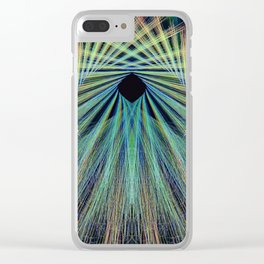 Cavern Through Time Clear iPhone Case