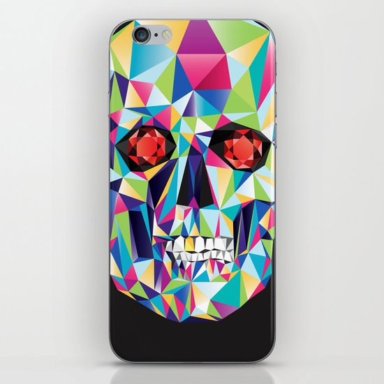 Geometric Candy Skull iPhone & iPod Skin