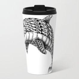 Ornate Dolphin Travel Mug