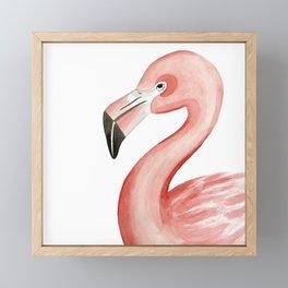 Flamingal Framed Mini Art Print