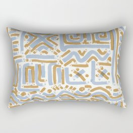 Graffiti Lines 1 Rectangular Pillow